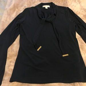 Navy blue Michael Kors blouse